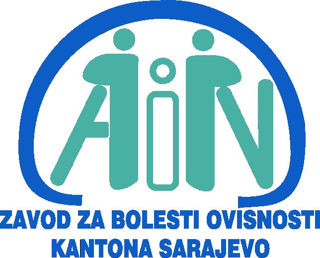 JU Zavod za bolesti ovisnosti Kantona Sarajevo Logo